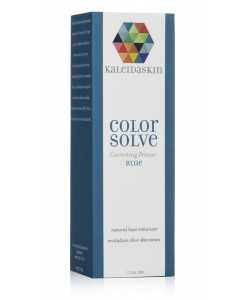 Blue color correcting foundation primer