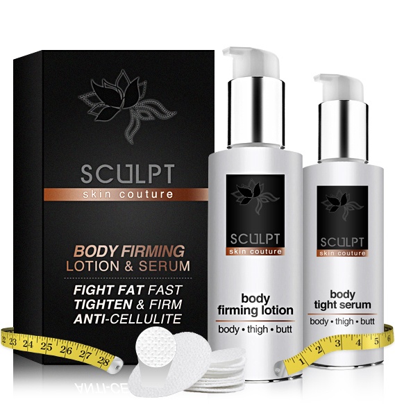 SCULPT Body Thigh Butt : Firming Lotion & Body Tight Serum