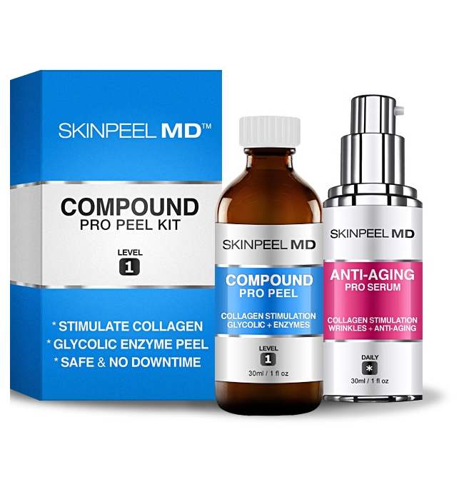 Compound Peel 30ml Level 1 : Pro Peel + Anti Aging Serum 30ml