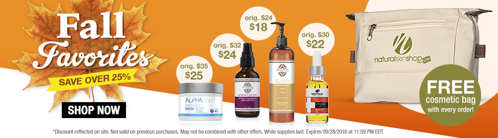 Save over 25% on our Fall Favorites