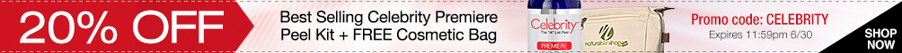 Save 20% on Celebrity Premiere Peel Plus Get Free Cosmetic Bag
