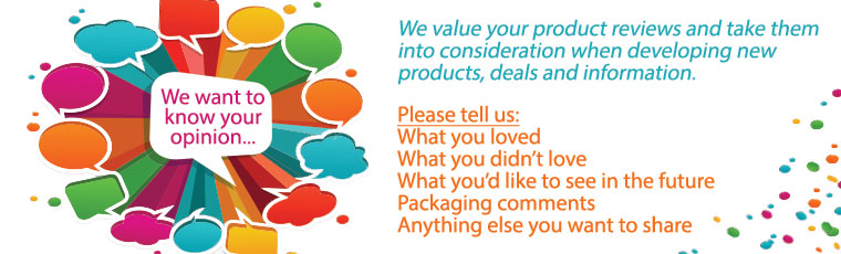 Tell us what you like and don't like about our products