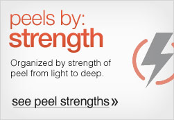 Peels by Strength & Experience