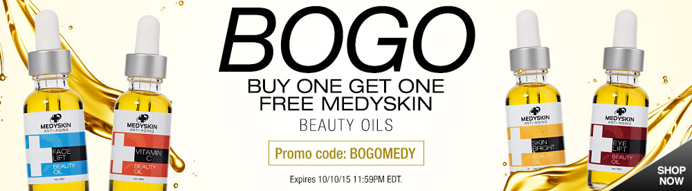 Buy One Get One Free Beauty Oils